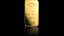 1oz Valcambi Gold Bar